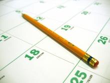 busy work calendar